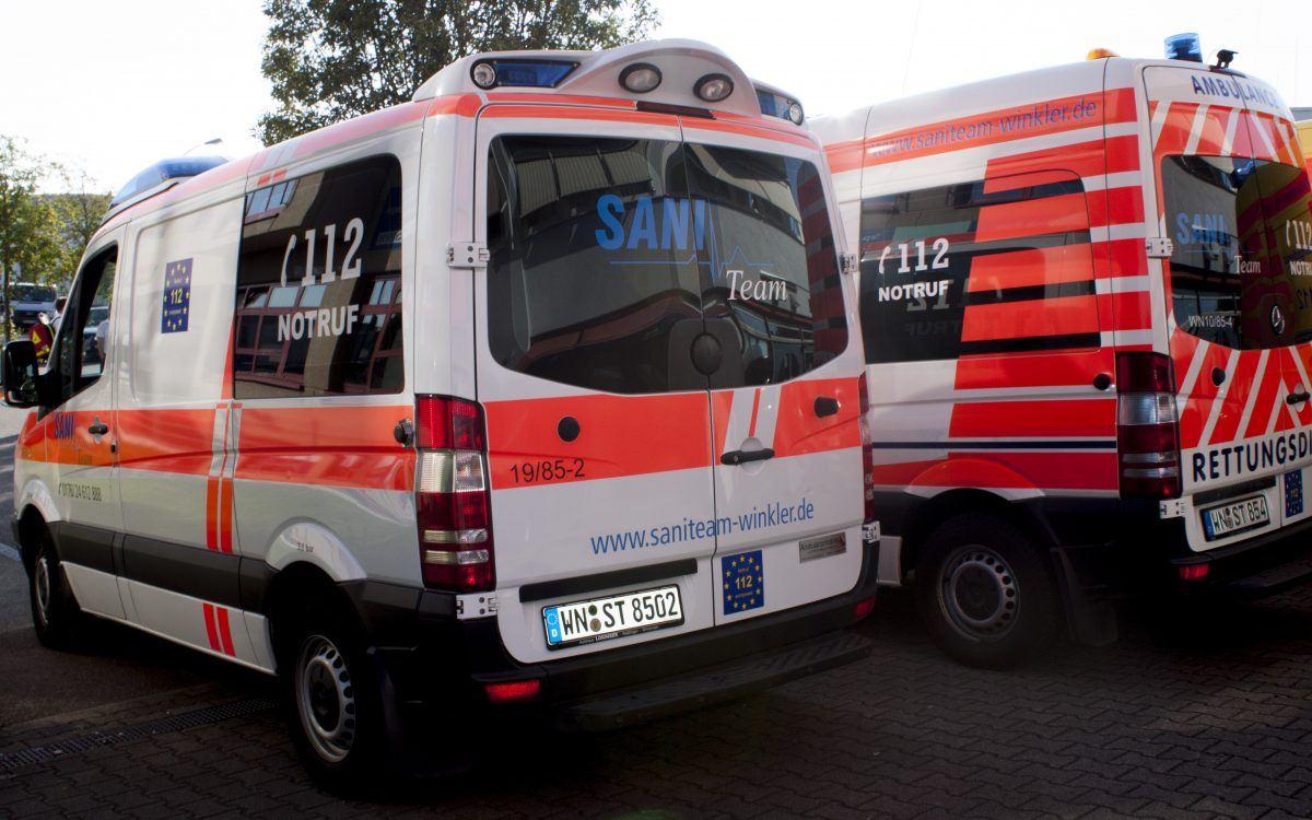 Sani Team Winkler – Rettungswagen